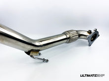 Load image into Gallery viewer, ULTIMATEBHP SKODA OCTAVIA 2.0T T304 DECAT DOWNPIPE EXHAUST 3""