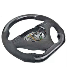 Load image into Gallery viewer, BMW E82/88/90/92/93 FORGED CARBON FIBER FLAT BOTTOM STEERING WHEEL