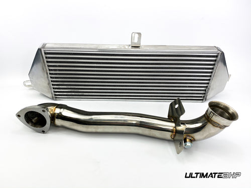 ULTIMATEBHP MINI COOPER S R57 JCW DECAT DOWNPIPE + STAGE 2 INTERCOOLER KIT 1.6L