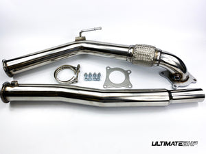 AUDI A3 S3 2.0 TFSI T304 DECAT DOWNPIPE EXHAUST 3""