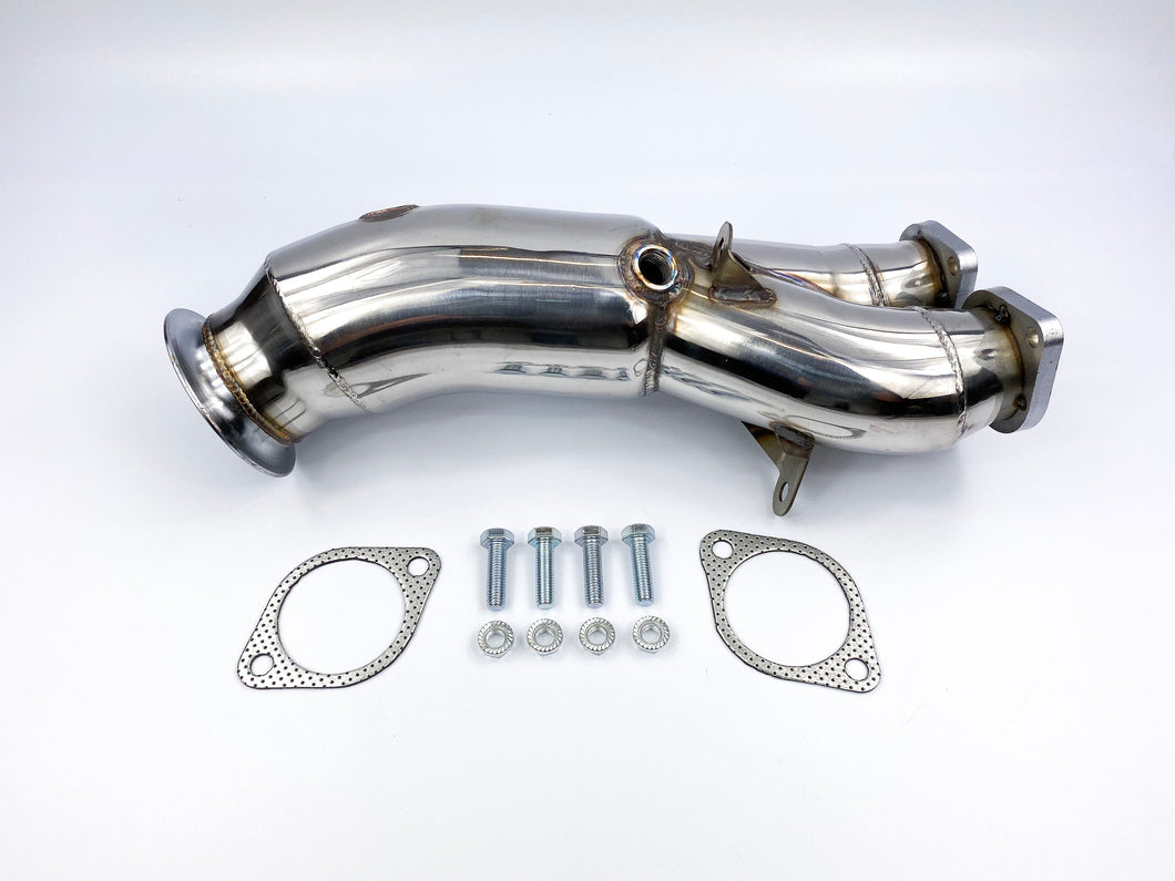 ULTIMATEBHP BMW 135I E82 E88 DECAT DOWNPIPE EXHAUST EARLY N55 ENGINE SINGLE TURBO