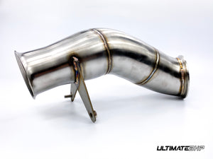 ULTIMATEBHP BMW 135i N55 DECAT DOWNPIPE EXHAUST 4″ M135i