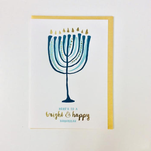 Here's to a Bright and Happy Hanukkah