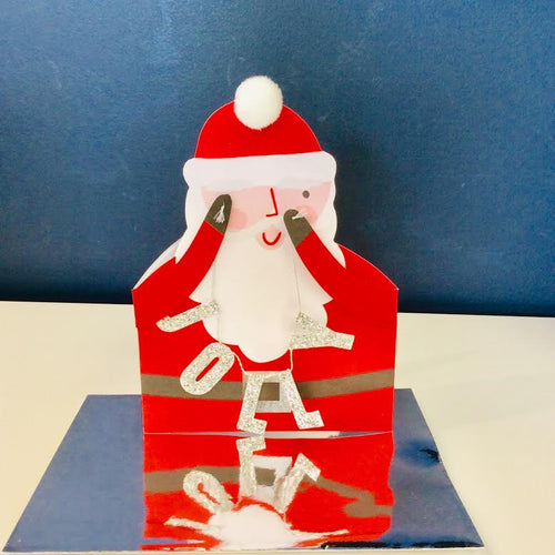 Jolly Santa Cut Out