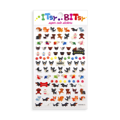 Itsy Bitsy-Pooches Stickers - Indie Indie Bang! Bang!