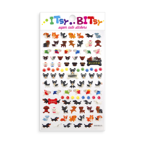 Itsy Bitsy-Pooches Stickers