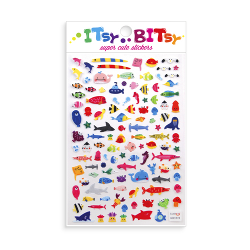 Itsy Bitsy-A Little Sea Life Stickers