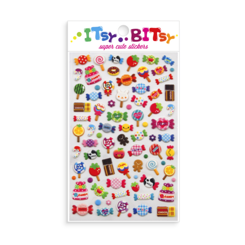 Itsy Bitsy- Candy Stickers