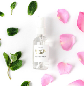 Floral Mist Spray - Rose + Peppermint - Indie Indie Bang! Bang!