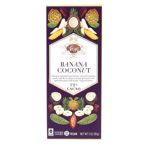 Vosges Banana Coconut Chocolate Bar - Indie Indie Bang! Bang!