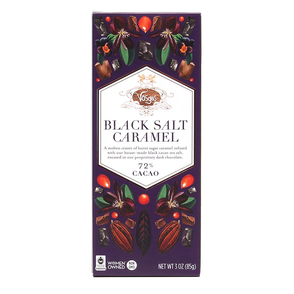 Vosges Black Salt Caramel Chocolate Bar - Indie Indie Bang! Bang!