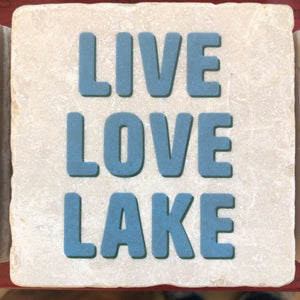 Live Love Lake Coaster - Indie Indie Bang! Bang!