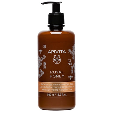 APIVITA Royal Honey Creamy Shower Gel with Essential Oils - Indie Indie Bang! Bang!