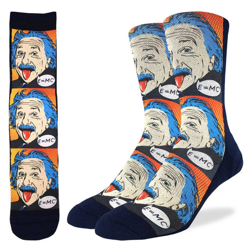 Einstein Pop Art Socks - Indie Indie Bang! Bang!