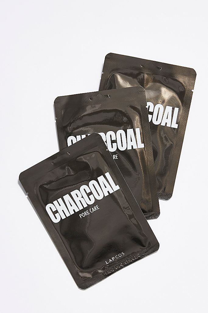 Charcoal Pore Care Sheet Mask - 5 pack