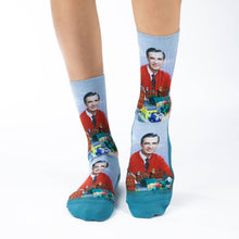 Load image into Gallery viewer, Women's Mister Rogers Make Believe Sock - Indie Indie Bang! Bang!