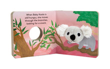 Load image into Gallery viewer, Baby Koala: Finger Puppet Book - Indie Indie Bang! Bang!