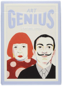 Artist Genius Playing Cards