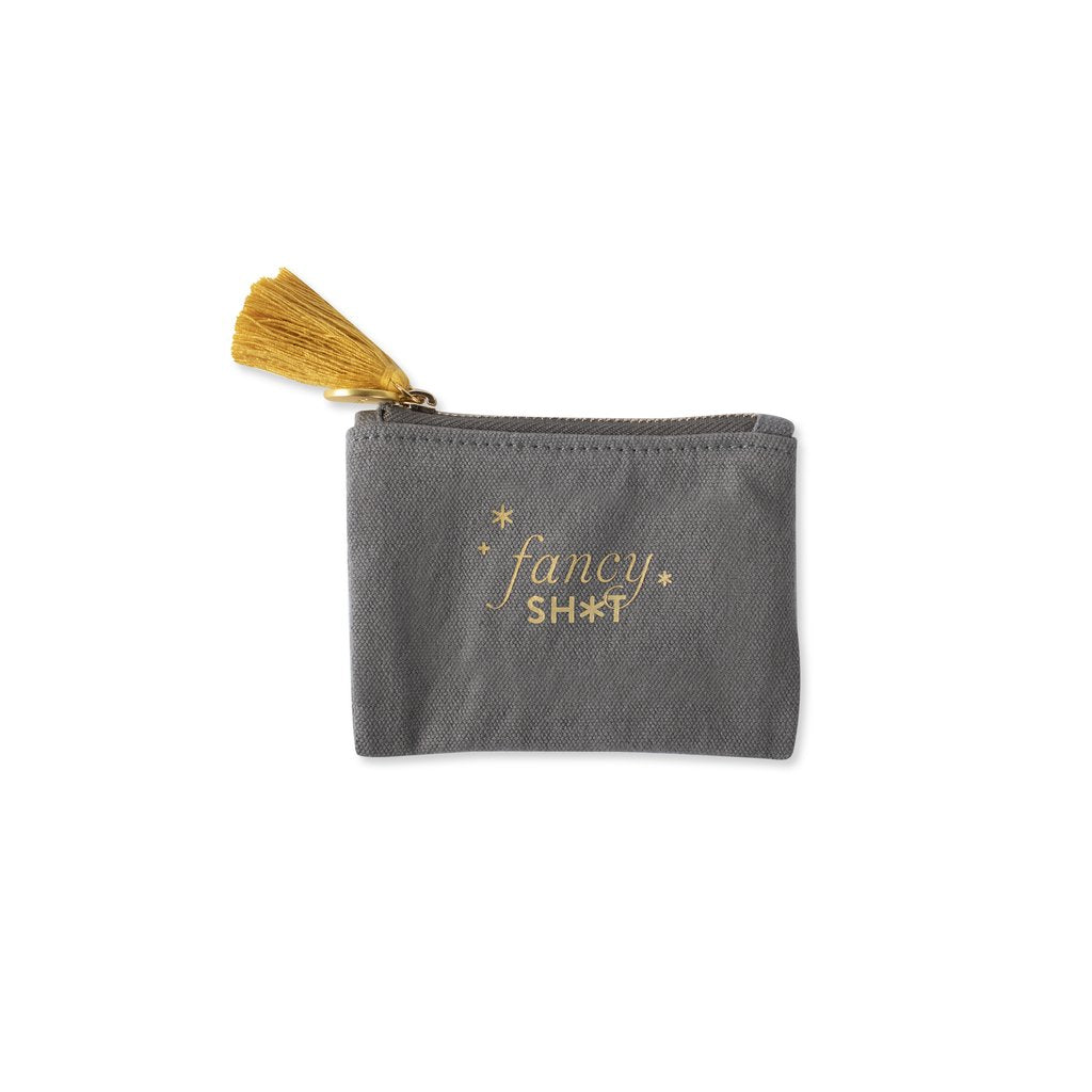 Coin Purse with Stiched Fancy Shit