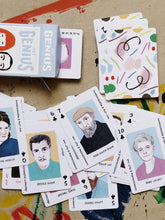 Load image into Gallery viewer, Artist Genius Playing Cards - Indie Indie Bang! Bang!