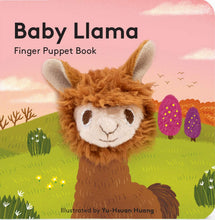 Load image into Gallery viewer, Baby Llama Finger Puppet Book - Indie Indie Bang! Bang!