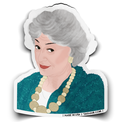 Golden Girls Stickers - Indie Indie Bang! Bang!