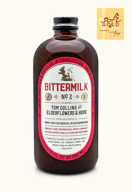 Bittermilk No.2 Mixer: Tom Collins with Elderflowers & Hops - Indie Indie Bang! Bang!