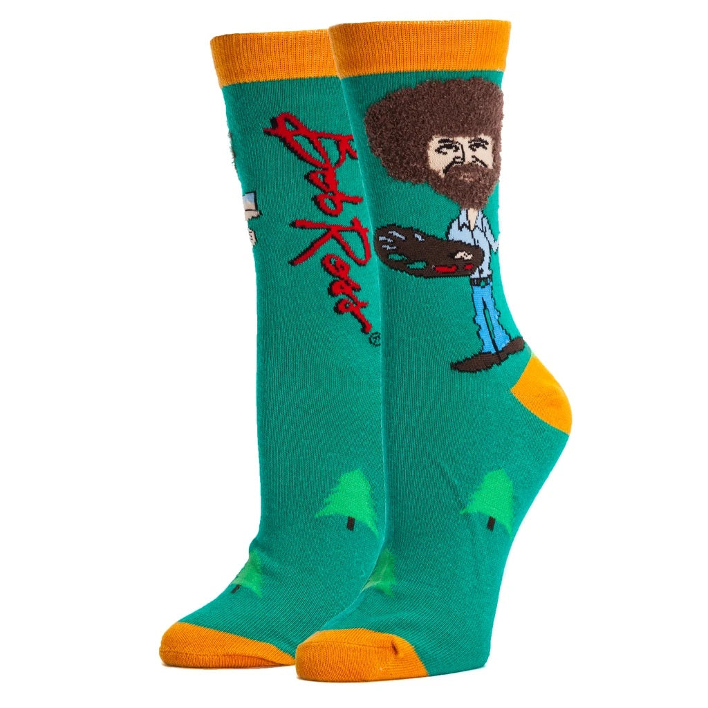 Bob Ross Women's Socks - Indie Indie Bang! Bang!
