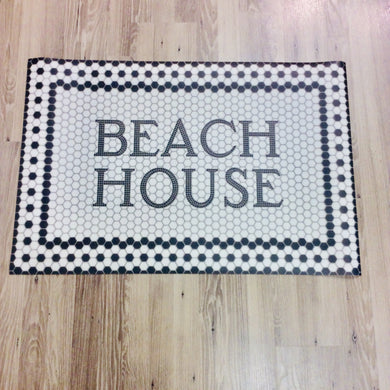 Beach House Door Mat - Indie Indie Bang! Bang!