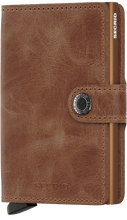 Load image into Gallery viewer, Mini Wallet Vintage Cognac-Rust - Indie Indie Bang! Bang!