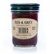 Load image into Gallery viewer, Gus & Grey: Hubba Hubba Raspberry Habanero Jam - Indie Indie Bang! Bang!