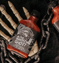 Load image into Gallery viewer, Hoff's Smokin' Ghost Hot Sauce - Indie Indie Bang! Bang!
