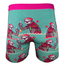 Load image into Gallery viewer, Christmas Sloths Undies - Indie Indie Bang! Bang!