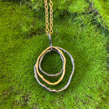 Load image into Gallery viewer, Michael Michaud. Petite Driftwood Link Pendant Necklace - Indie Indie Bang! Bang!