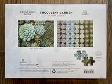 Load image into Gallery viewer, Succulent Garden double sided 500 piece jigsaw puzzle - Indie Indie Bang! Bang!