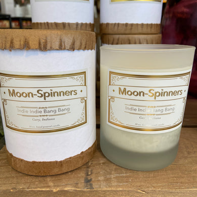 Moon Spinners Candle - Indie Indie Bang! Bang!