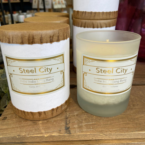 Steel City Candle - Indie Indie Bang! Bang!