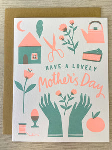 Lovely Mother's Day Greeting Card - Indie Indie Bang! Bang!