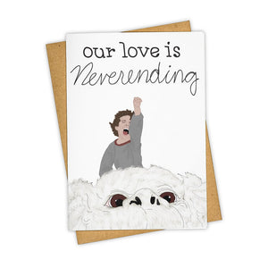 Neverending Love Card - Indie Indie Bang! Bang!