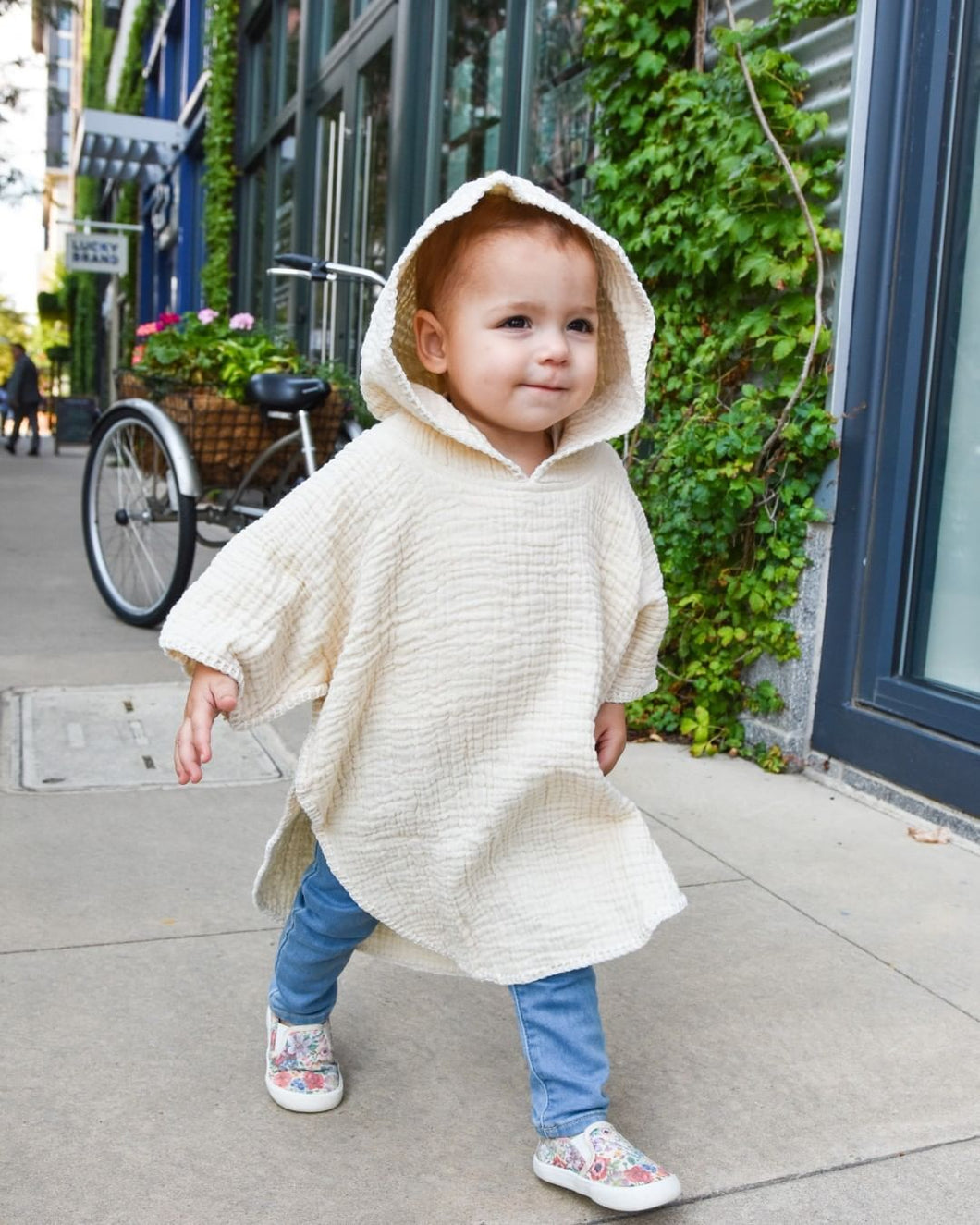 Cloud Toddler Poncho