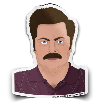 Parks and Rec Stickers - Indie Indie Bang! Bang!
