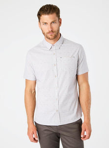 Modular Mix Short Sleeve Shirt - Indie Indie Bang! Bang!