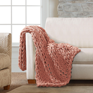 Chenille Chunky Knit Throws - Indie Indie Bang! Bang!