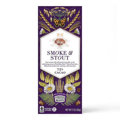 Vosges Smoke and Stout Chocolate Bar - Indie Indie Bang! Bang!
