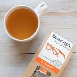 Teapigs - Sweet Ginger Tea - Indie Indie Bang! Bang!