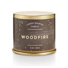 Load image into Gallery viewer, Woodfire Candle Tin
