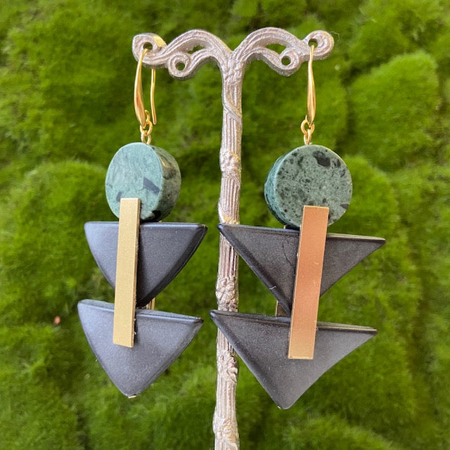 David Aubrey: Hierarchy Earrings - Indie Indie Bang! Bang!