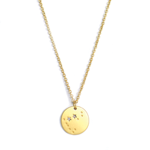 Load image into Gallery viewer, Capricorn Zodiac Necklace - Indie Indie Bang! Bang!