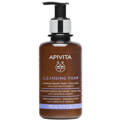 APIVITA Face and Eyes Cleansing Foam - Indie Indie Bang! Bang!