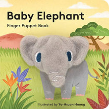 Load image into Gallery viewer, Baby Elephant Finger Puppet Book - Indie Indie Bang! Bang!